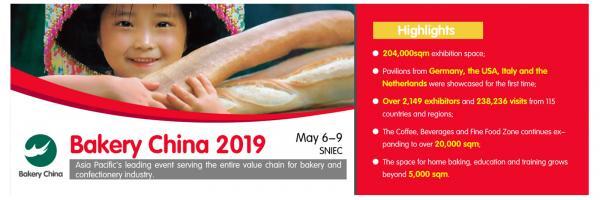 Exposición BAKERY CHINA 2019 - Shanghai